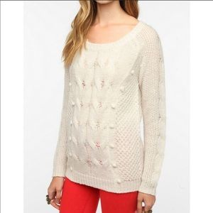 Urban Outfitters Pins & Needles Pom Pom Sweater